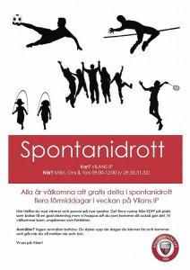Spontanidrott 2015